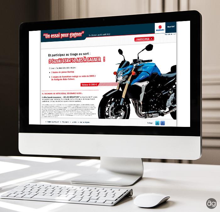 Mini site Suzuki