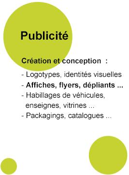 Création et conception de votre publicité à votre image !