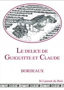 Création et réalisation d'une étiquette de vin personnalisé.