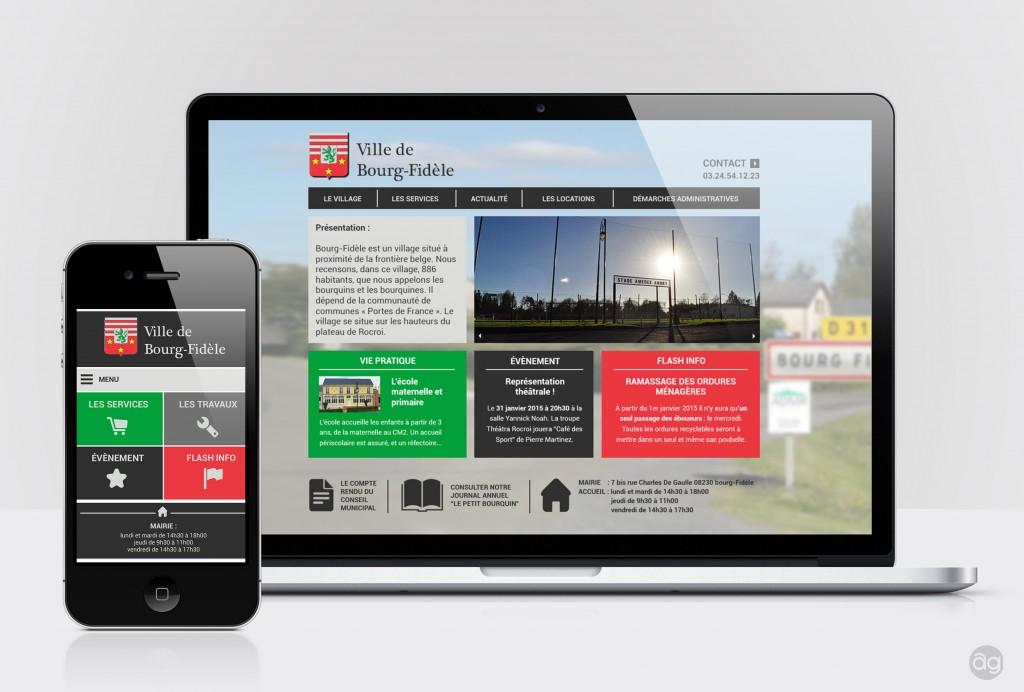 Site web de la ville de Bourg-Fidèle