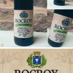 Étiquette de la bière de Rocroy