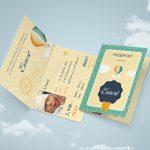 faire-part de naissance : Passeport