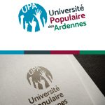 Refonte de logo pour l'université populaire des Ardennes