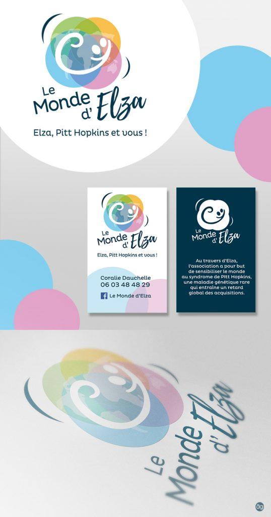 Logo pour l'association Le Monde d'Elza - Pitt Hopkins