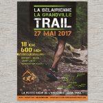 Flyer pour le Trail la Bélairienne 2017