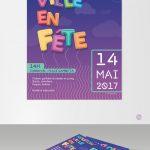 Affiche et flyer pour le Carnaval Nouzon'ville en Fête !Affiche et flyer pour le Carnaval Nouzon'ville en Fête !