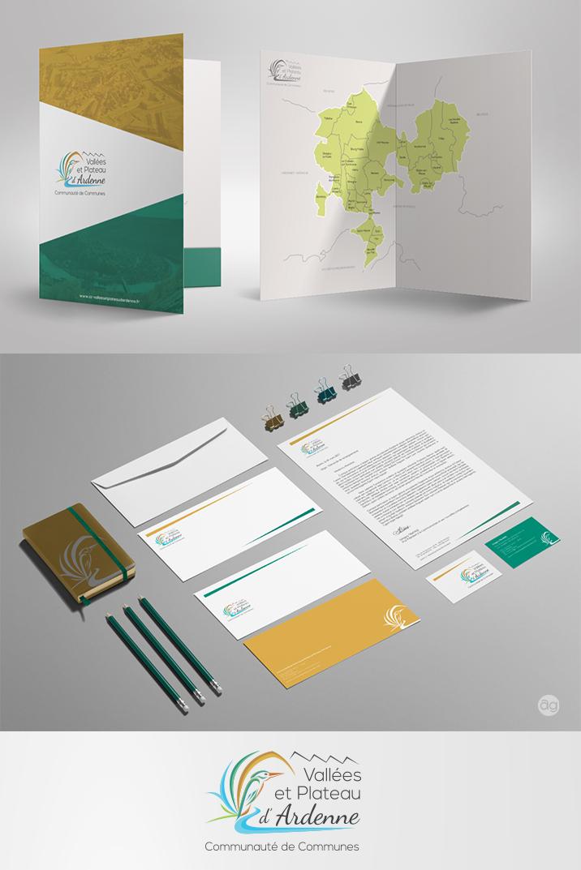 Papeterie pour la Communauté de Commune Vallées et Plateau d'Ardenne