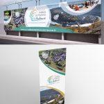 Roll Up et Banderole pour la Communauté de Communes Vallées et Plateau d'Ardenne