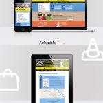 Webdesign du site internet d'Attigny, développé par iMaugis