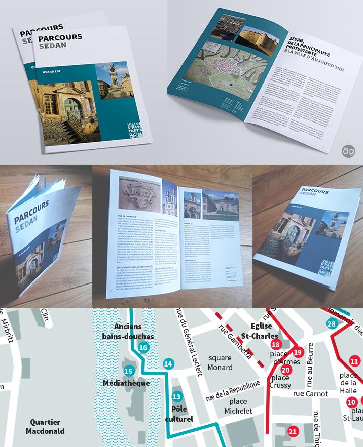 Mise en page du guide Parcours Sedan