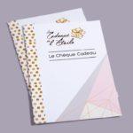 Chèque cadeau et carte de visite pour Les Cadeaux de l'étoile